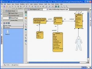 Download Entity Relationship Diagram Software  Qt4