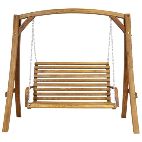 Wooden Swing by Bentley Garden Wooden Swing Seat At Homebase Co Uk