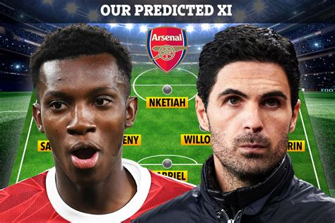 How Arsenal could line up at Liverpool in EFL Cup with ...