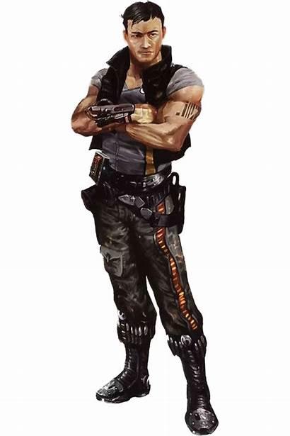 Rpg Character Cyberpunk Wars Characters Empire Edge
