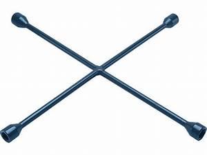Ken-tool U00ae Passenger 4-way Lug Wrench Sae  Metric