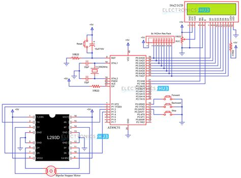 Stepper Motor Interfacing With Microcontroller