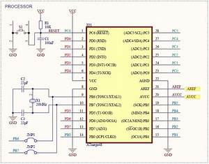 Atmega48  88  168 Development Board
