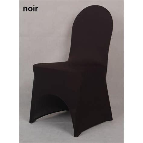 housse de chaise lycra housse de chaise en lycra spandex noir achat vente