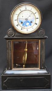 A 19th French mantel clock, HY Marc, Paris, with Japy ...