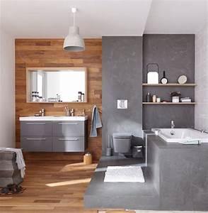 Peinture Béton Ciré : d co salle de bain beton cire ~ Melissatoandfro.com Idées de Décoration