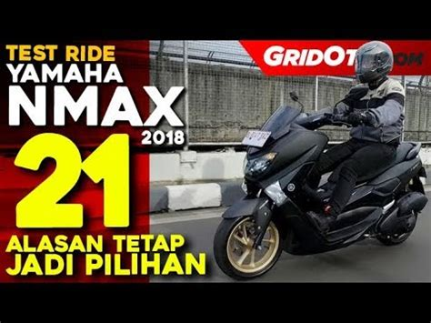 Nmax 2018 Teste by Yamaha Nmax 2018 Test Ride Review Gridoto