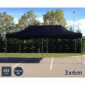 Barnum Pliant 3x6 : tente barnum pliant 3x6 noir semi pro polyester achat ~ Carolinahurricanesstore.com Idées de Décoration