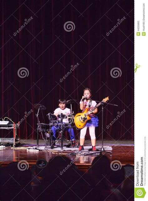 kid rock fan club kids rock band editorial photography image 44255862