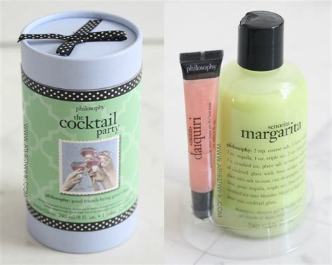 Review Philosophy Gift Set  The Cocktail Party