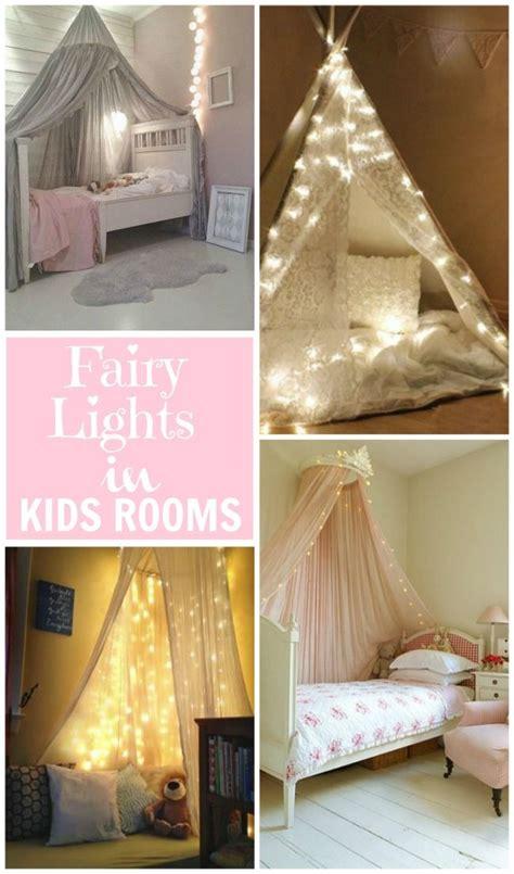 kids bedroom beautiful fairy light ideas