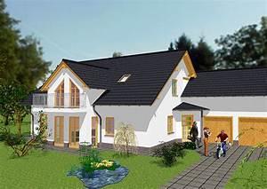 Haus Mit Integrierter Garage : wir bauen moderne einfamilienh user gse haus ~ Frokenaadalensverden.com Haus und Dekorationen