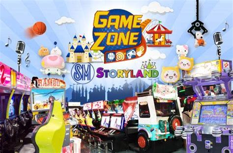 gamezone  sm mall  asia experience
