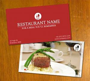 Restaurant business card by danbradster on deviantart for Restaurant business cards samples