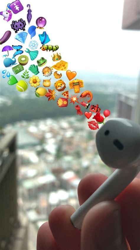 aesthetic airpods rainbow emoji aesthetic art apple