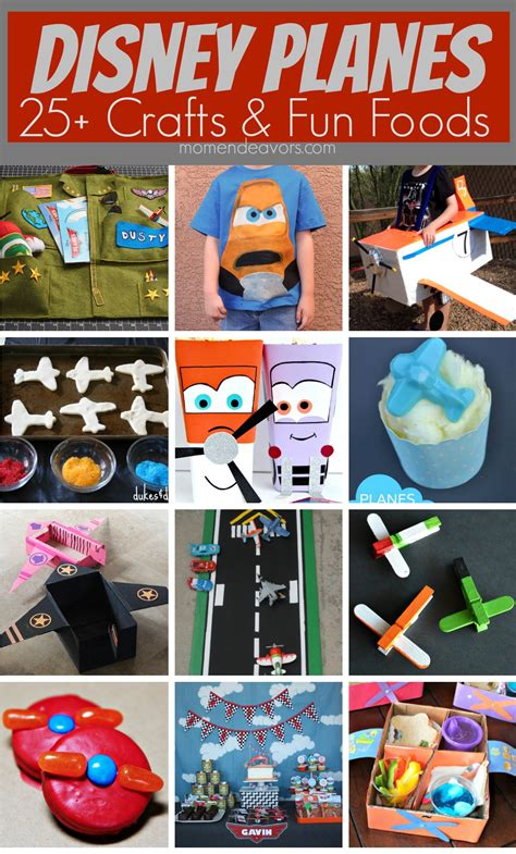 25 disney planes crafts food ideas