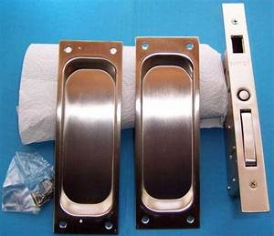 Dummy Set  Classic Emtek Heavy Duty Pocket Door Mortise