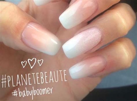 Baby boomer nails comment faire une french manucure ombrée ? . manucure ongles et french manucure