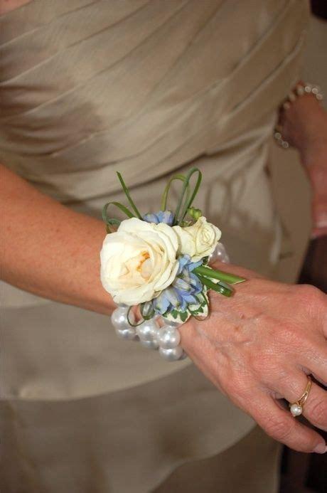 wrist corsages  moms wedding ideas pinterest