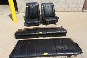 Bench Bucket Seats by 67 Nova Front Bucket Seats Set And Rear Bench For Sale In