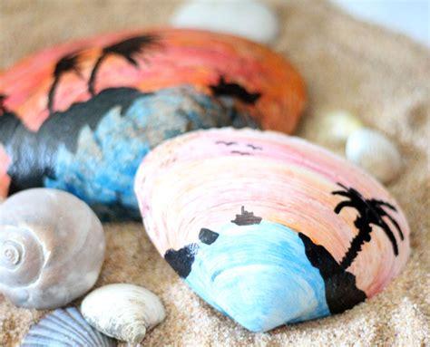 Painted Seashell Craft