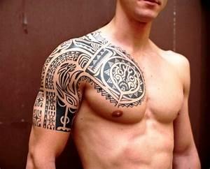 tattoos for men half sleeveCool Half Sleeve Tattoos For ...