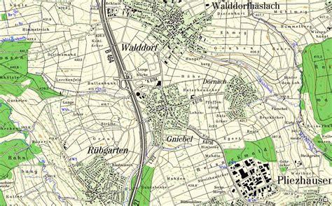 Topographische Karte 1 25000