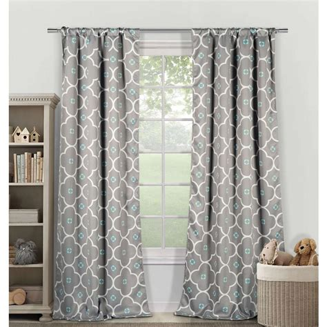 duck river window curtains duck river blackout gingalia 84 in l blackout pole top