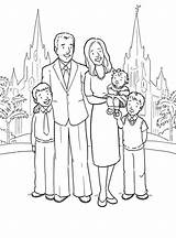 Coloring Missionary Popular sketch template