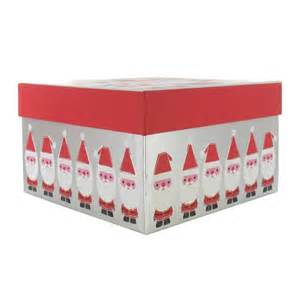 santa gift box from paperchase christmas gift boxes housetohome co uk