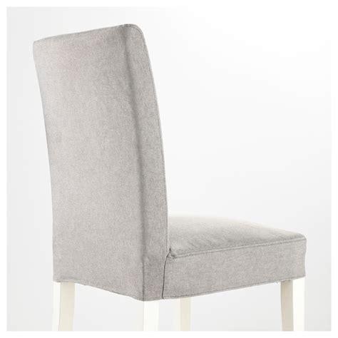 chaise gris clair henriksdal chaise blanc orrsta gris clair ikea