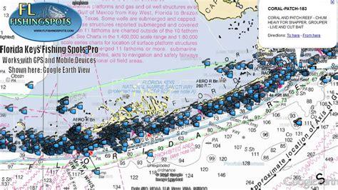 fishing florida keys maps gps map spots areas county pro monroe area included flfishingspots
