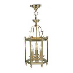 brass hall ceiling lantern traditional period home lighting