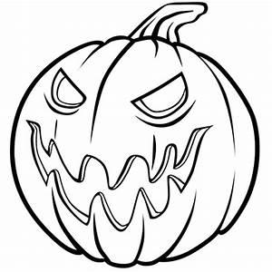 Tete De Citrouille Pour Halloween : coloriage m chante citrouille d 39 halloween en ligne gratuit imprimer ~ Melissatoandfro.com Idées de Décoration