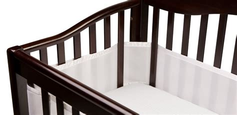 bumper pads for cribs breathable baby mesh crib bumper pads review