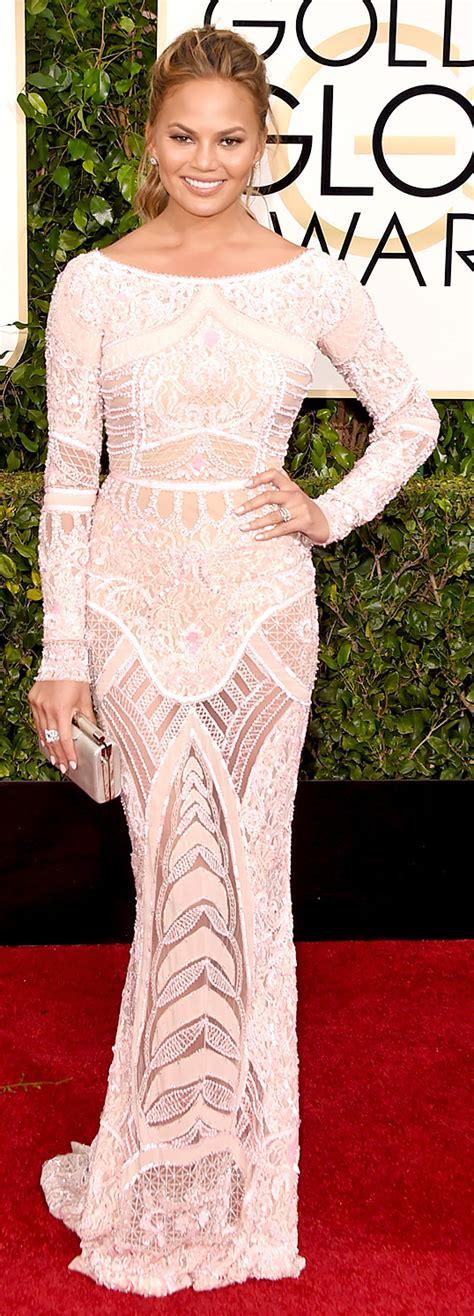 Chrissy Teigen - Zuhair Murad | Celebrity style dresses ...