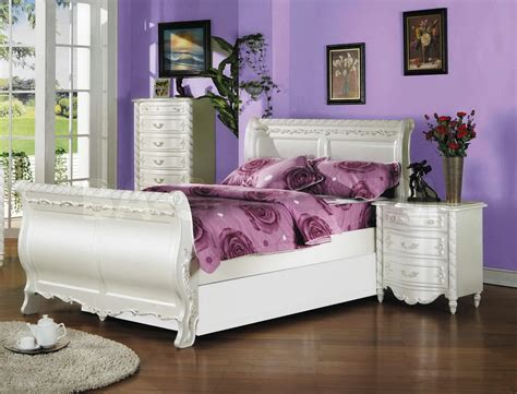 Beautiful Girls White Bedroom Furniture Editeestrela Design