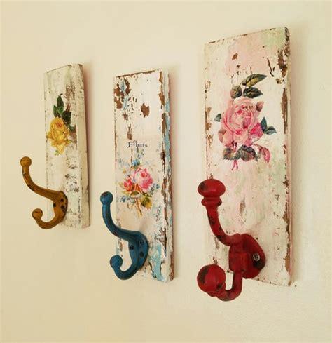 Decorative Wall Hook - decorative wall hooks shabby cottage coat rack towel rack