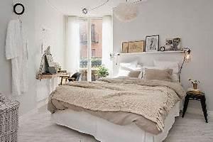 Chambre Grise Et Beige : couleur chambre blanche et beige pour d co boh me chic ~ Melissatoandfro.com Idées de Décoration