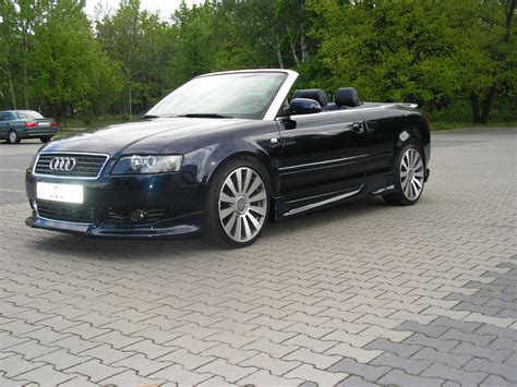 2005 Audi A4 Convertible Body Kit 2003 Audi As4 Cabriolet
