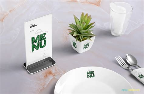 Table Restaurant Menu by Complete Table Menu Psd Mockup For Free Designhooks
