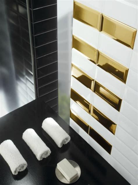 faience pour credence cuisine carrelage métro argent miroir 7 5x15 cm