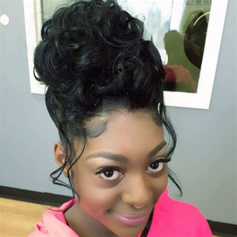 Sew In Updo Hairstyles by 50 Ways To Wear Sew In Hairstyles That Will Inspire You