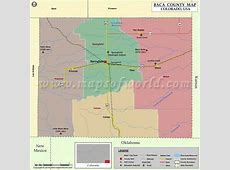 Baca County Map, Colorado Map of Baca County, CO