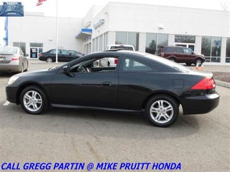 Used 2007 Honda Accord Ex Coupe For Sale