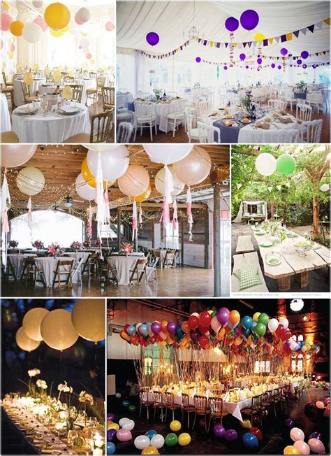 des ballons pour mon mariage wedding deco mariage