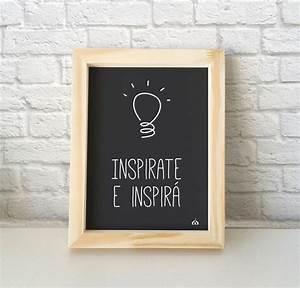 Cuadros DIY con frases inspiradoras y buen humor