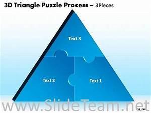 3 Pieces Triangle Puzzle Diagram