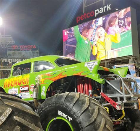 monster truck show in san diego jim koehler 39 s recap from the monster jam show in san diego