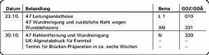 Privat Rechnung Stellen : aktuelle fallbeispiele hemisektion mit transdentaler fixation ~ Themetempest.com Abrechnung